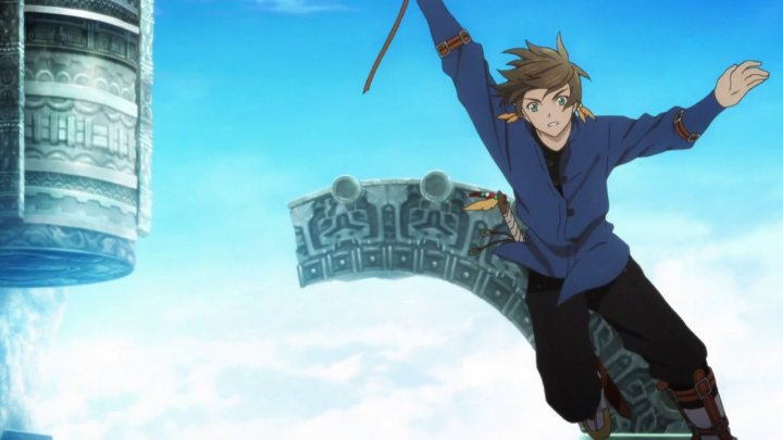 Even a small detail like Sorey having a grappling hook really emphasizes his love for exploring and is a great touch.