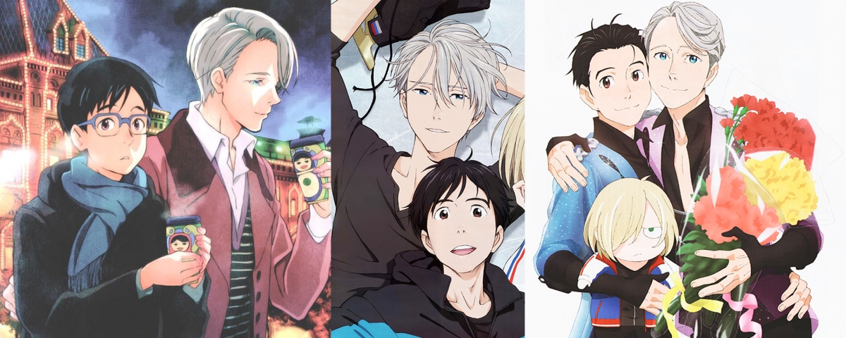 Yuri and Victor - The Best Part of Yuri!!! On Ice
