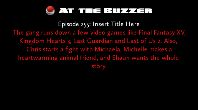 At the Buzzer (12/08/16)