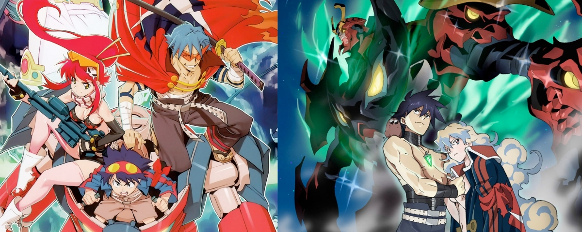 Gurren Lagann Movies vs Anime
