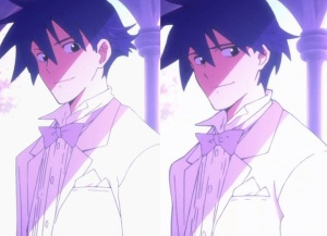 Left screenshot: anime. Right: movie. The difference may not be obvious at first glance, but it evokes so much more in the scene.