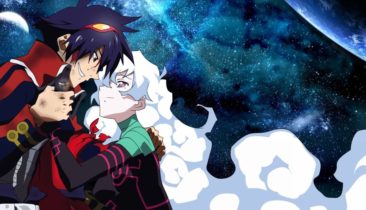 Nia and Simon - The Best Part of Gurren Lagann