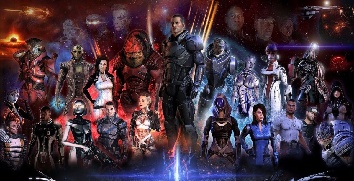 Best Video Game Series: (5) Mass Effect