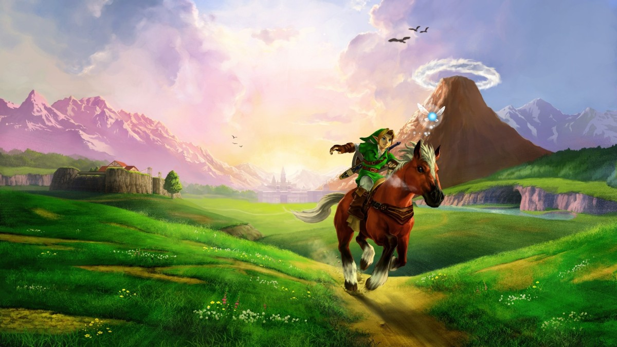 Best Video Game Series: (1) The Legend of Zelda
