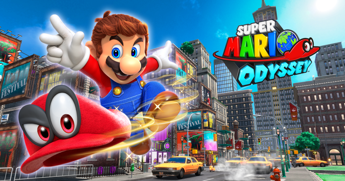 Super Mario Odyssey, and the Joy of Playing