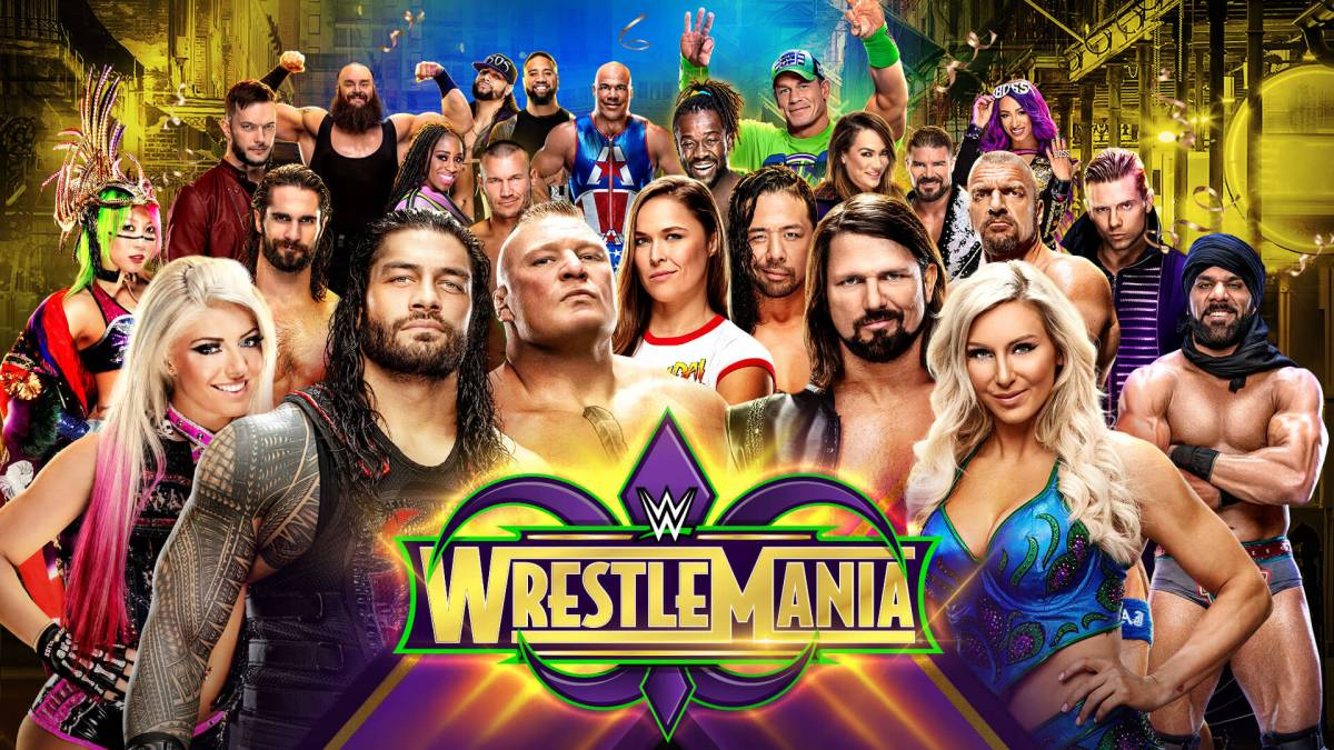 Wrestlemania 34 Review: Blood, Sweat and Tears -- and More Blood
